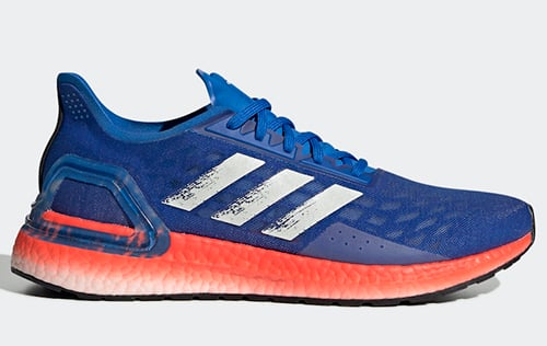 adidas Ultra Boost PB Glory Blue Solar Red Release Date