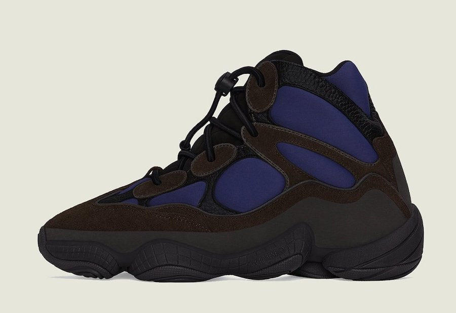adidas Yeezy 500 High Tyrian FY4269 Release Date