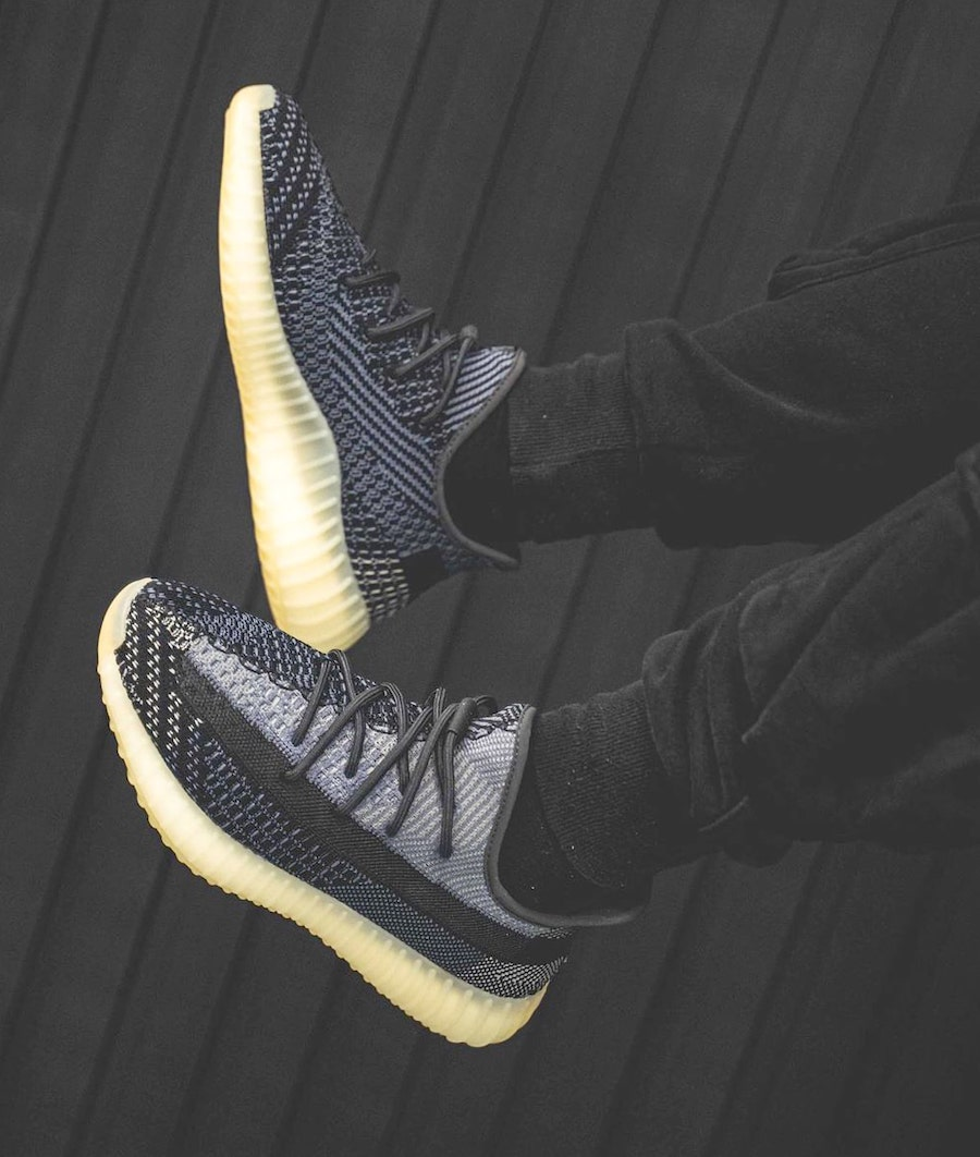 adidas Yeezy Boost 350 V2 Asriel On Feet