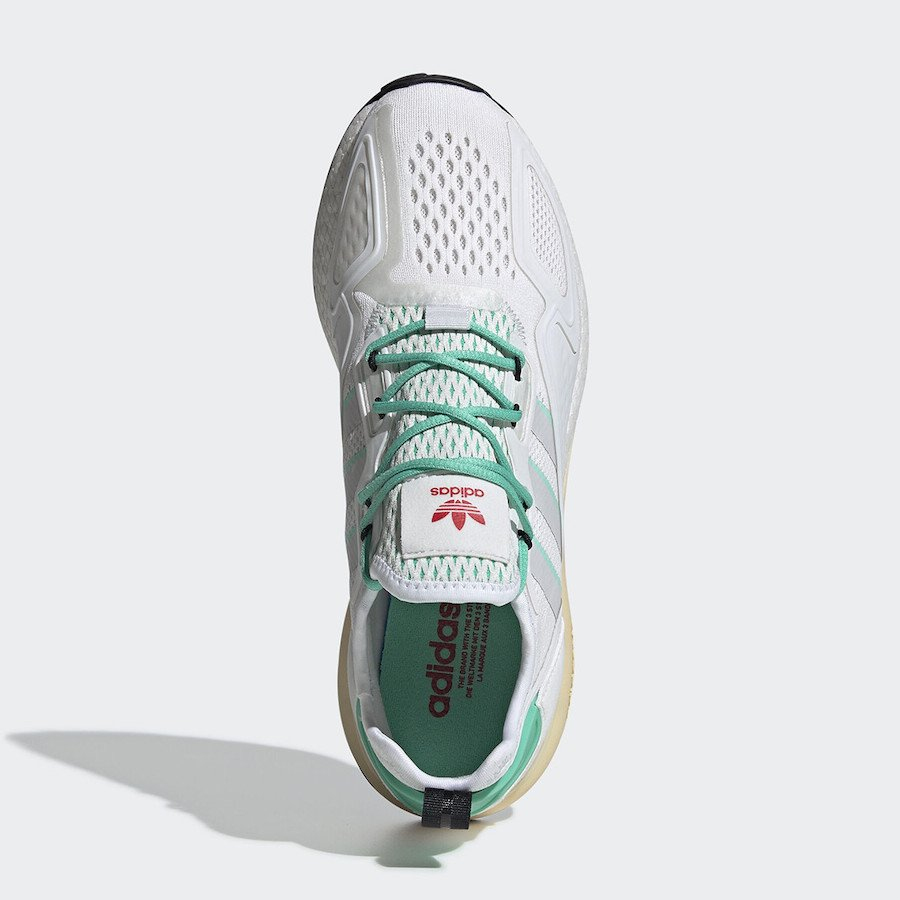adidas ZX 2K Boost Hi-Res Green FX4172 Release Date Info