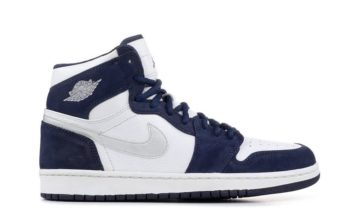 Air Jordan 1 Japan White Midnight Navy Metallic Silver DC1788-100