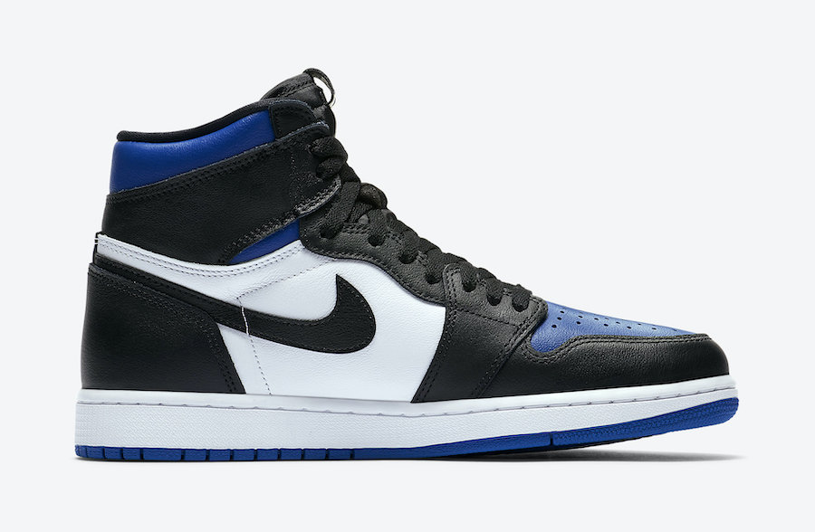 Air Jordan 1 Game Royal Toe Release 555088-041