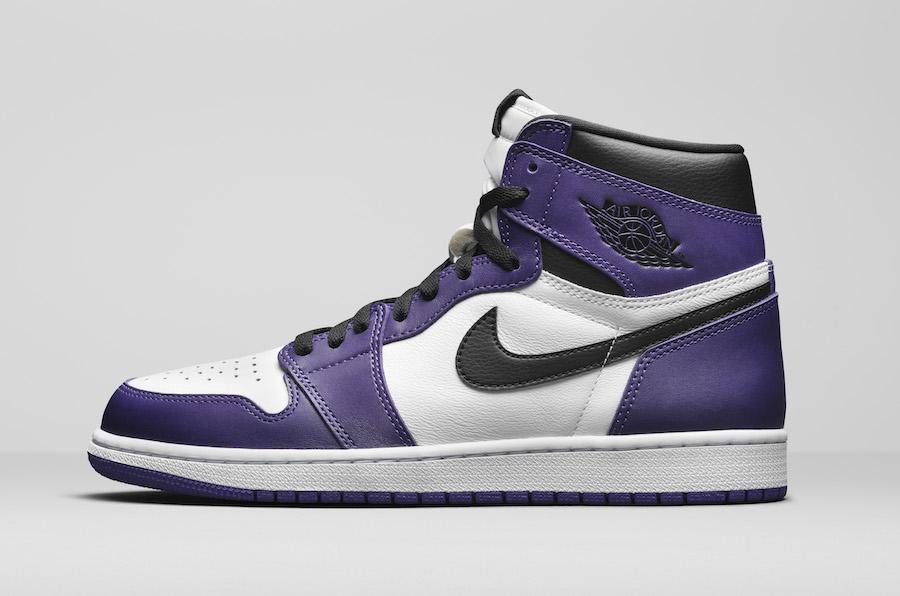 Air Jordan 1 High OG Court Purple 555088-500 Release Date