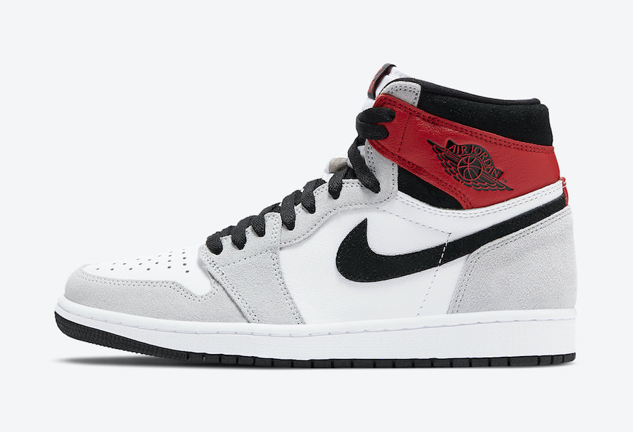 Air Jordan 1 Light Smoke Grey 555088-126 Price Release Date