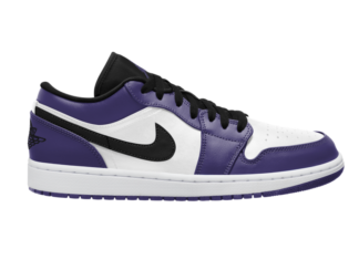 Air Jordan 1 Low Court Purple White 553558-500