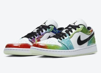 Air Jordan 1 Low Galaxy CW7310-909 Release Date