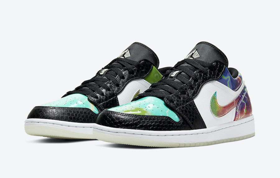 Air Jordan 1 Low Galaxy CW7309-090 Release Date Info