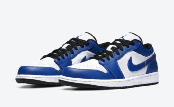Air Jordan 1 Low Game Royal 553558-124 Release Date