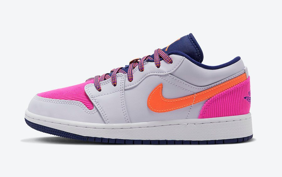 pink and crimson jordans