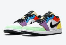 Air Jordan 1 Low Multicolor CZ3572-104 Release Date Info
