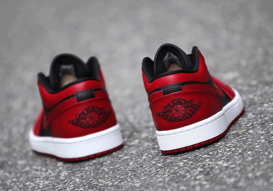 Air Jordan 1 Low Varsity Red 2020 Release Date
