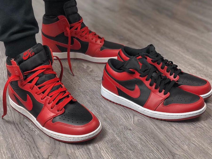 Air Jordan 1 Low Varsity Red Release Date