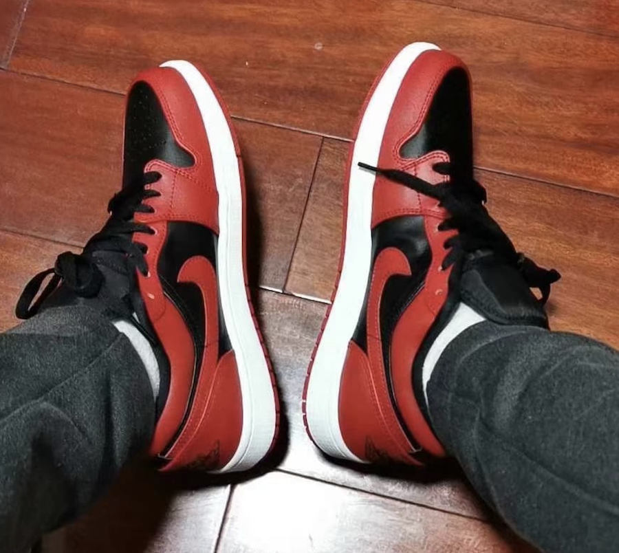 Air Jordan 1 Low Varsity Red Release Date Info