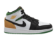 Air Jordan 1 Mid SE Lucky Green Laser Orange BQ6931-101