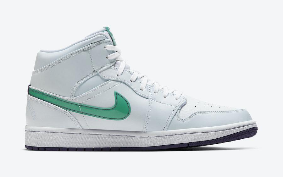 Air Jordan 1 Mid SE Nike Hoops CW5853-100 Release Date Info