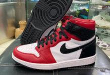Air Jordan 1 WMNS Satin Snake CD0461-601