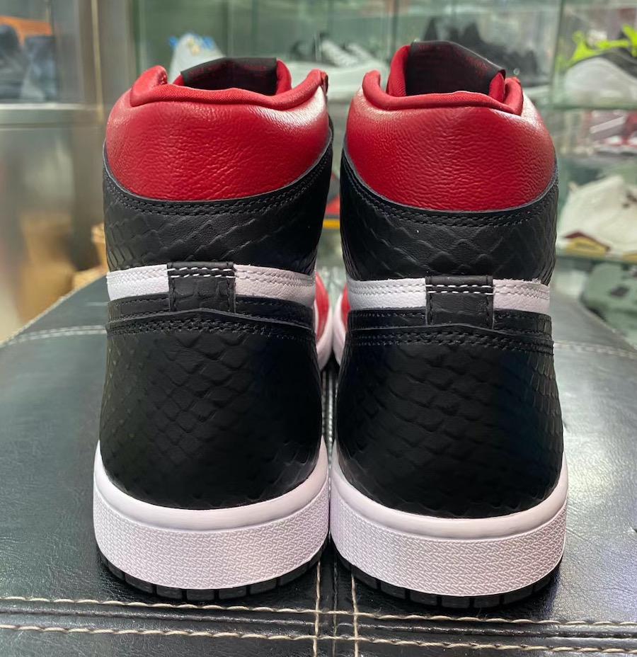 Air Jordan 1 WMNS Satin Snake CD0461-601 Release Date