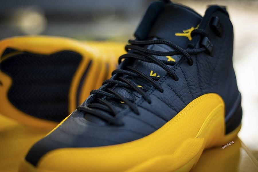 Air Jordan 12 University Gold 130690-070 Release Date