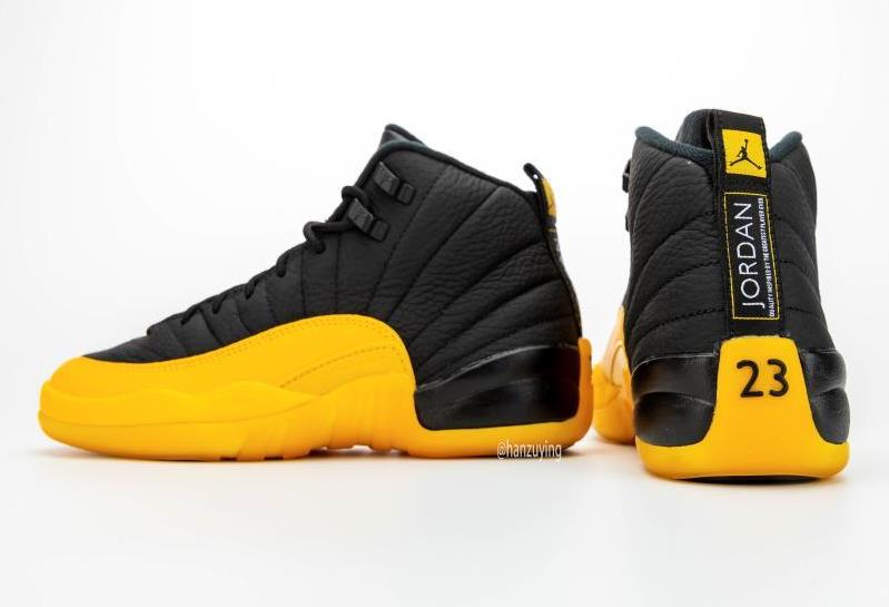 Air Jordan 12 Black University Gold 130690 070 Release Date Info