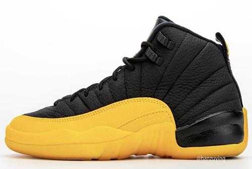 Air Jordan 12 University Gold Black Release Date
