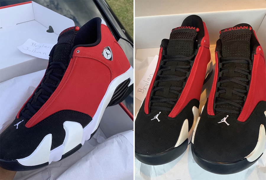 Air Jordan 14 Toro Gym Red 487471-006