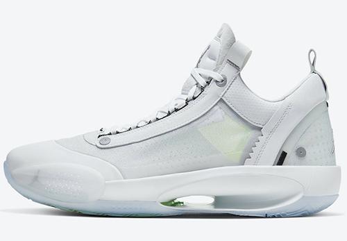 Air Jordan 34 XXXIV Low Crispy White Release Date