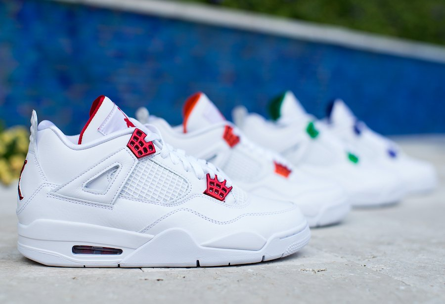 Air Jordan 4 Metallic Pack