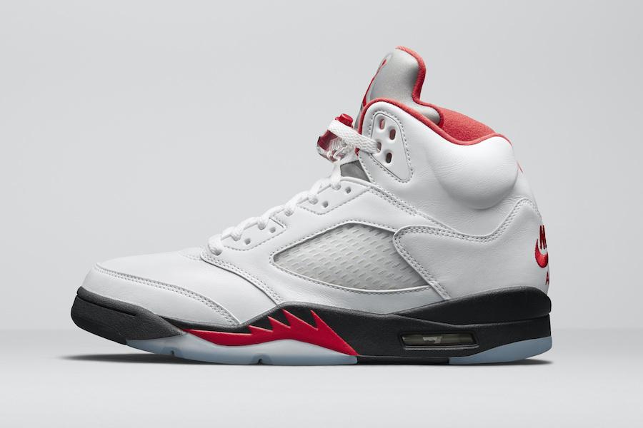 Air Jordan 5 OG Fire Red CT4838-102 Release Date