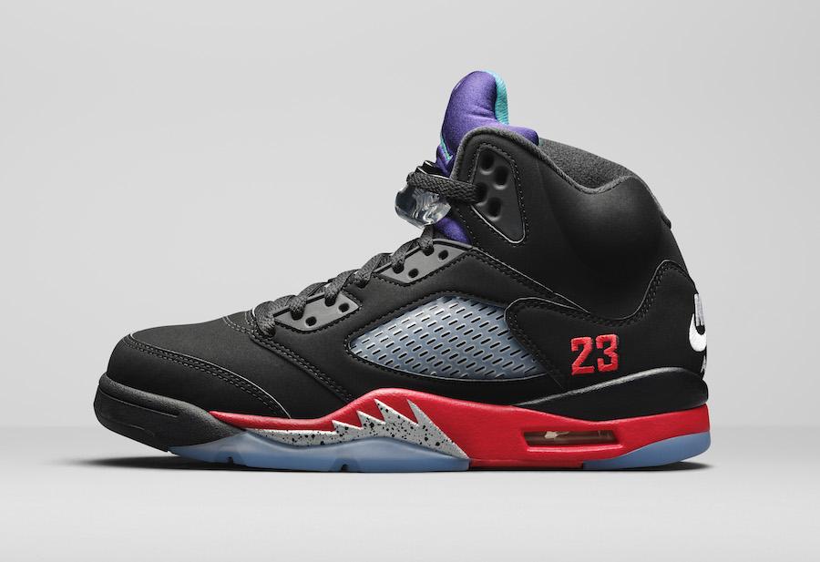 Air Jordan 5 Top 3 CZ1786-001 Release Date