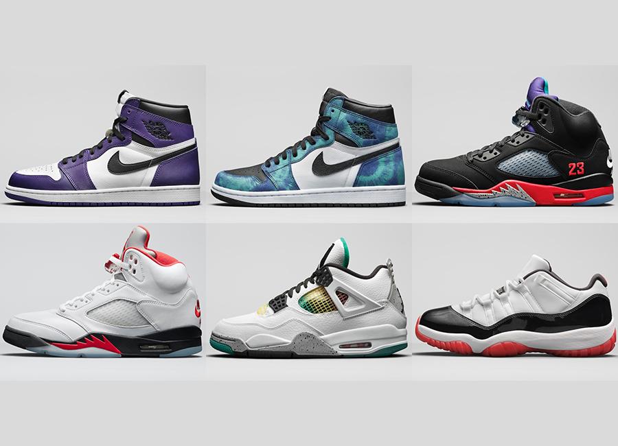 Air Jordan Summer 2020 Release Dates