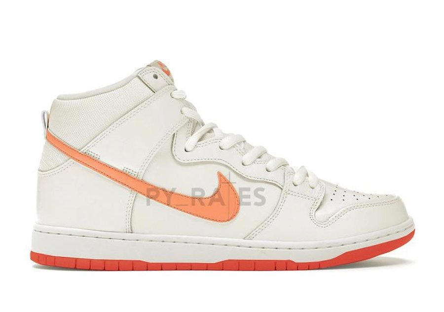 Bodega Nike Dunk High Pearl White Magic Ember Team Orange Release Date Info