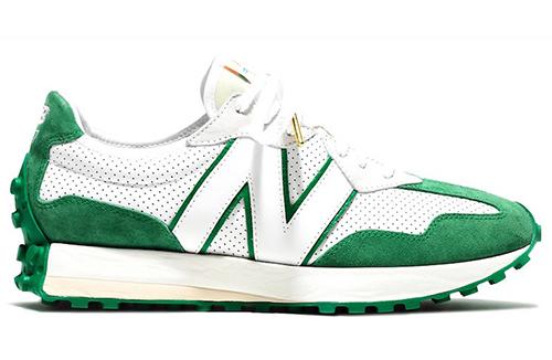 Casablanca New Balance 327 White Green Release Date