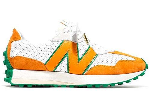 Casablanca New Balance 327 White Orange Green Release Date