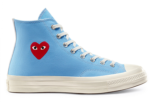 CDG PLAY Converse Chuck 70 Blue Release Date