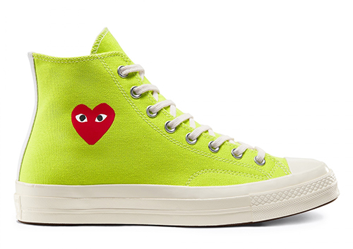 CDG PLAY Converse Chuck 70 Green Release Date