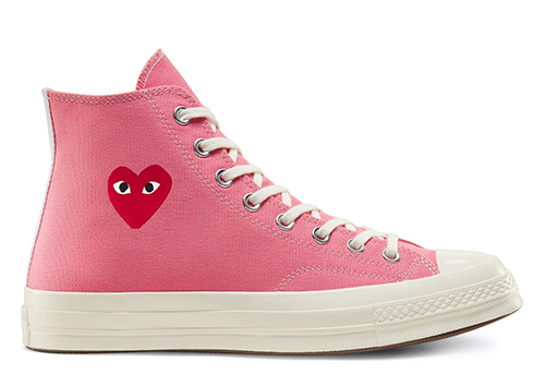 CDG PLAY Converse Chuck 70 Pink Release Date