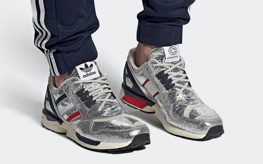 De confianza Vislumbrar Arrastrarse  Concepts adidas ZX 9000 Silver Metallic Release Date Info | SneakerFiles