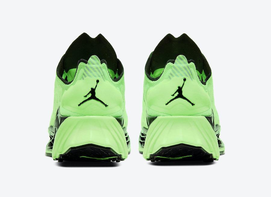 Jordan Zoom Trunner Ultimate Rage Green CJ1495-300 Release Date Info