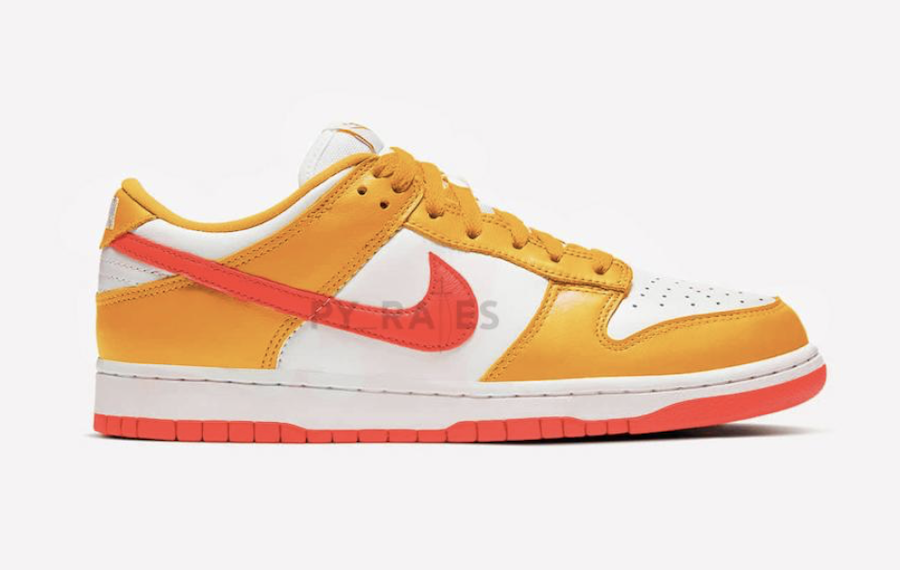 Kasina Nike Dunk Low Pearl White University Gold Melon Tint Release Date Info