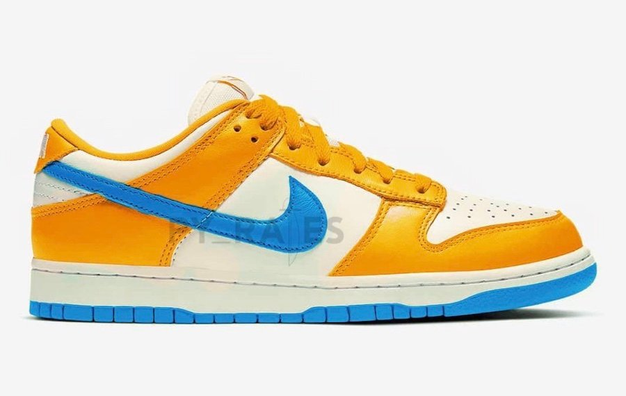 Kasina Nike Dunk Low Sail University Gold Industrial Blue Release Date Info