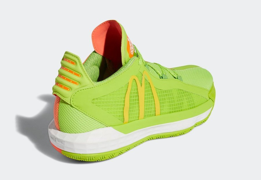 McDonalds adidas Dame 6 Dame Sauce FX3334 Release Date Info