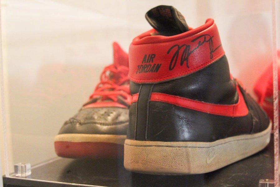 Michael Jordan Nike Air Ship Banned Air Jordan 1