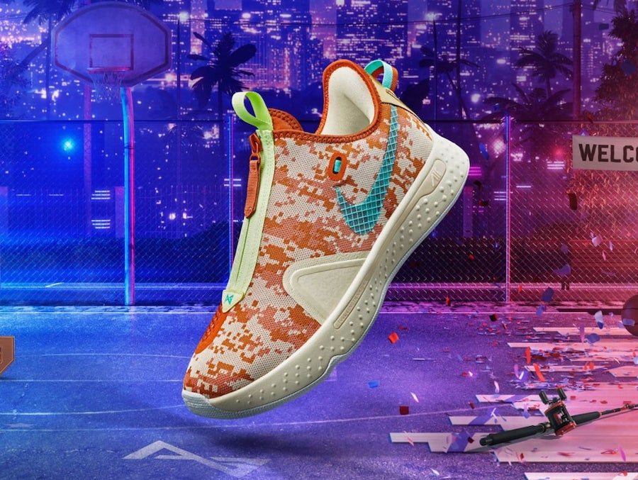 NBA 2K Nike PG 4 Digi-Camo GE
