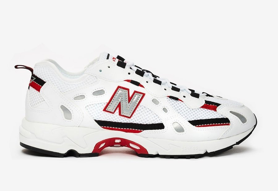 New Balance 827 White Black Red Release Date Info