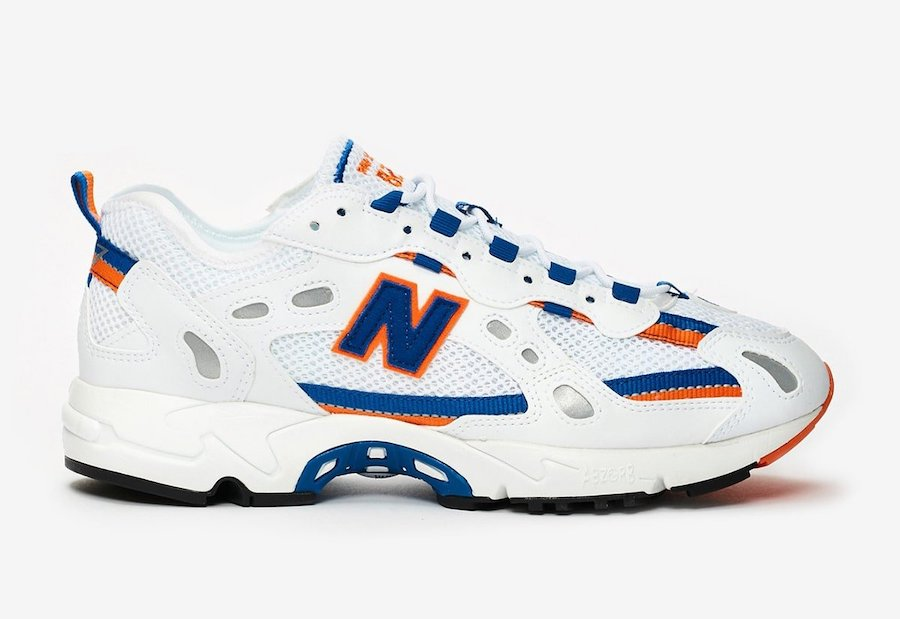 New Balance 827 White Royal Orange Release Date Info