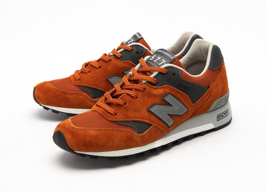 New Balance M577 Orange Grey Release Date Info