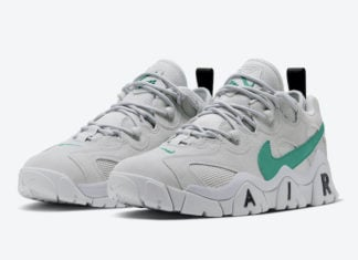 Nike Air Barrage Low Neptune Green CW3129-001 Release Date Info