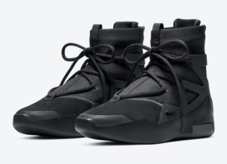 Nike Air Fear of God 1 Black Noir AR4237-005 Release Date