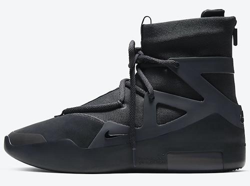 Nike Air Fear of God 1 Black Noir Release Date