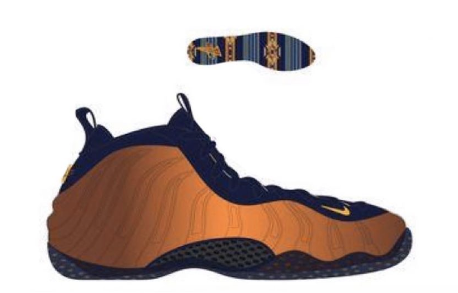 Nike Air Foamposite One Rugged Orange Blue Void University Gold CJ0303-400 Release Date Info